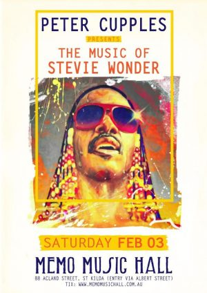 Peter Cupples – Celebrating the Music of Stevie Wonder
