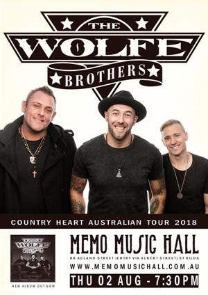 the wolfe brothers country heart tour