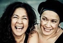 NYE Vika and Linda Bull