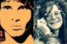 Janis Joplin + The Doors